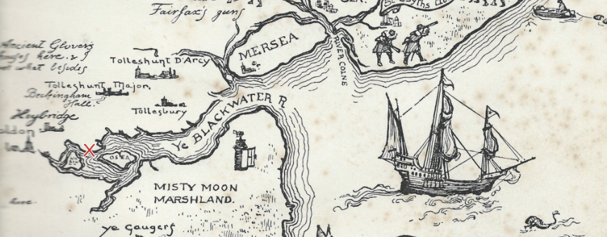 River Blackwater Map