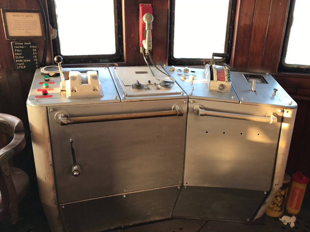 Ross Revenge Bridge Control Station