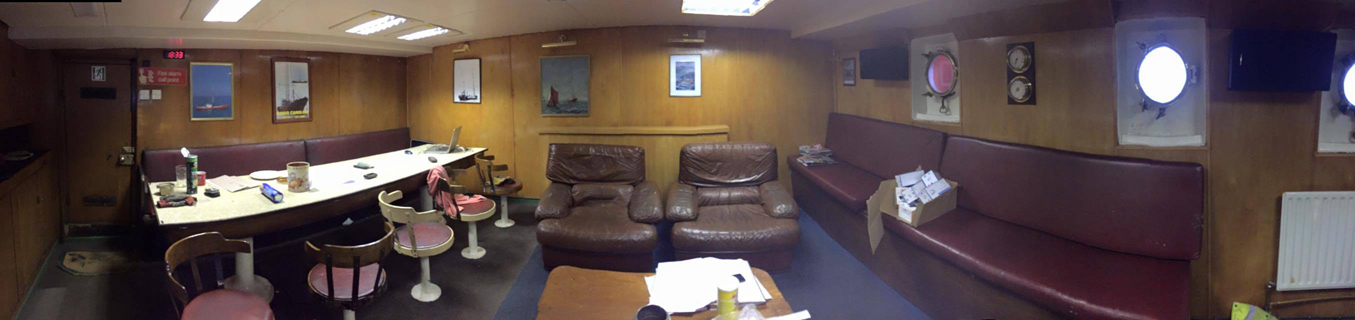 Radio Caroline Mess Room