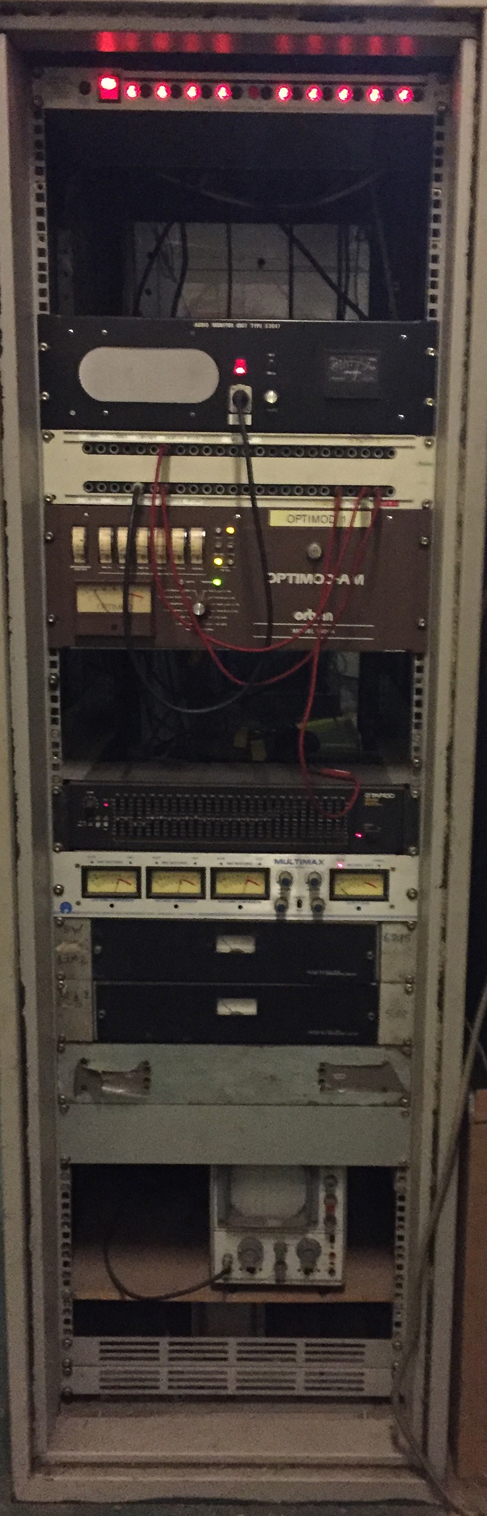 Radio Caroline Processing Rack